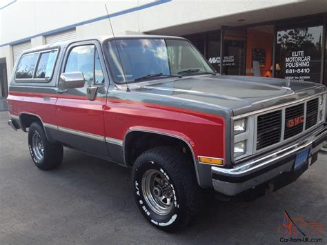 gmc jimmy 1988 100 gmc jimmy 1988 20 interesting facts about gmc