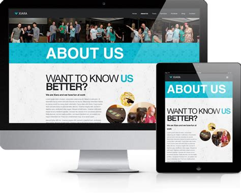 themeforest xiara site templates xiara responsive onepage parallax html