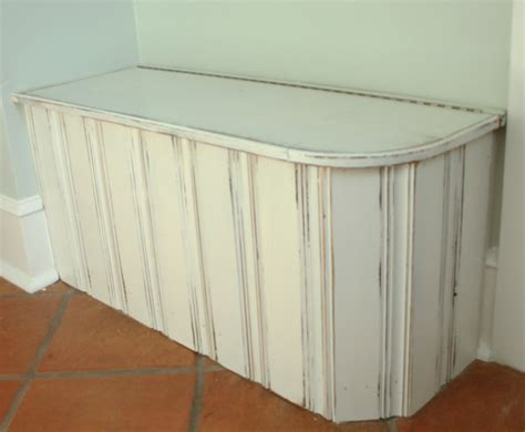 beadboard bench beadboard storage bench benches