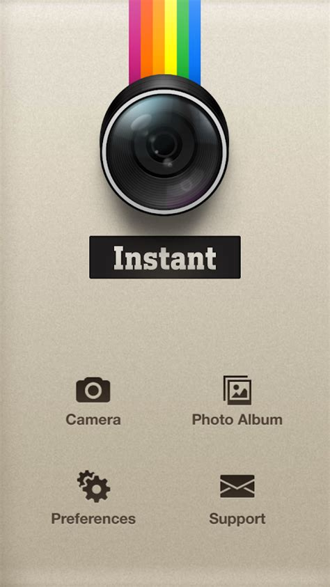 instant app for android phone instant polaroid instant android apps on play
