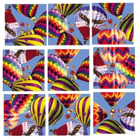 hot air balloons scramble squares 010871 details