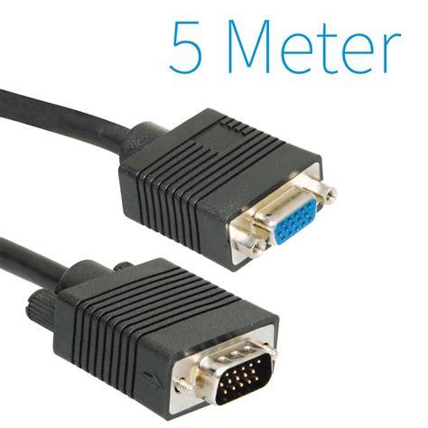Kabel Vga 5 Meter Cable Vga 5 Meter vga verleng kabel 5 meter groothandel xl