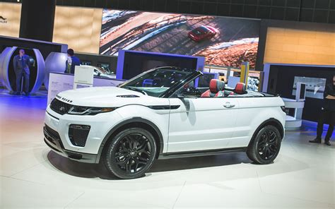 nissan range rover 2015 los angeles the range rover evoque convertible tries