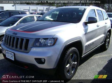 jeep grand trailhawk silver bright silver metallic 2013 jeep grand