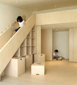 Stairs And Slide by Stair Slide For Kids Under Stair Storage For Parents 1 Jpg