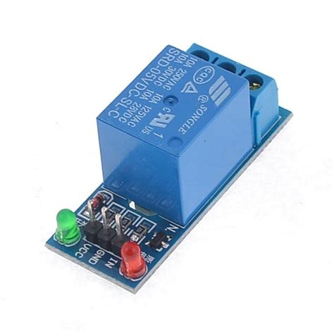 Lc Relay 1 Channel 5v Volt Dc Output 25 Kode Fd10316 1 low level one channel relay module 5v dc for arduino nightfire electronics