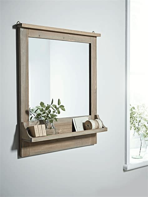 modern bathroom mirror shelf lovely with a wood