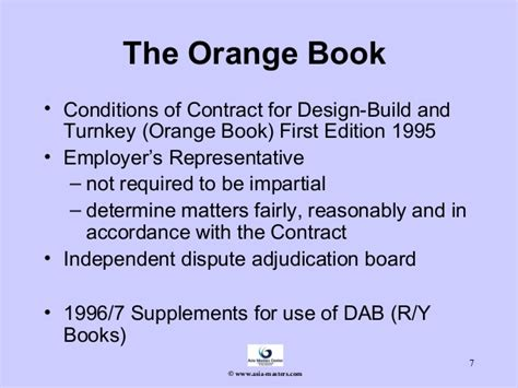plant and design build contract 1st ed 1999 yellow book pdf an overview of the fidic forms of contract and contracts
