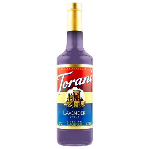 torani lavender syrup 750 ml bottle s baristaproshop com