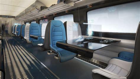 Home Design Magazine Naples by Hitachi Rail Europe Reveals New High Speed Train Interior