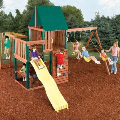 home depot swing n slide swing n slide chesapeake wood complete play set pb