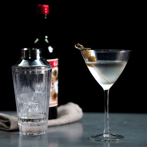 classic gin martini recipe myrecipes
