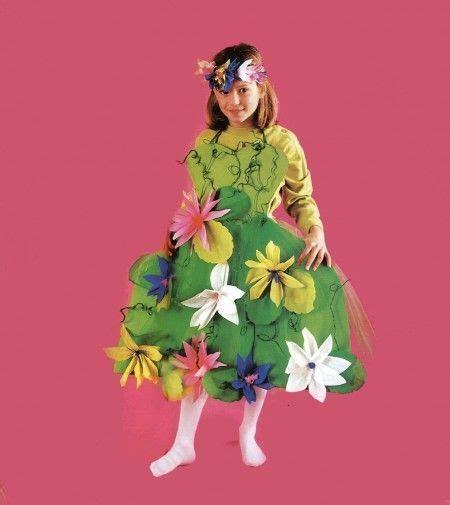vestito da fiore vestiti di carnevale fai da te per bambini foto pourfemme