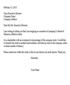 Corporate Resignation Letter Sle by Sle Corporate Resignation Letters 8 Free Sle Exle Format Free Premium