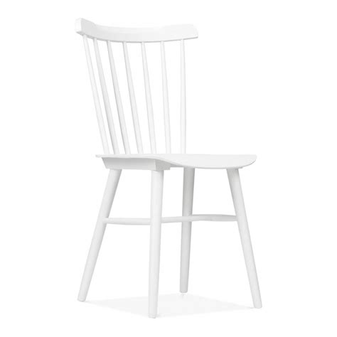 Industrial Dining Room Table Windsor Wooden Chair In White By Cult Living Dining