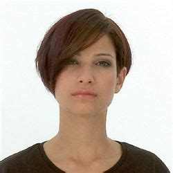 short wedge haircuts with middle part 150 best images about longer pixies on pinterest short