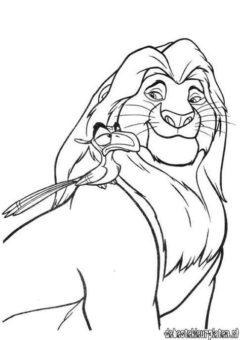 Lion King Zira Colouring Pages Page 2 Coloring Home The King 2 Coloring Pages