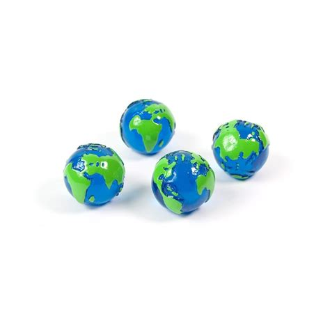 assorted popular shape office magnets globe 1 set of 4