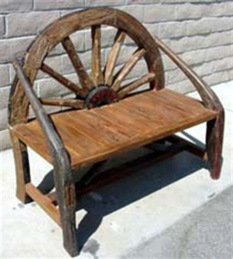 wagon wheel bench for sale wagon wheel benches