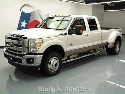 how cars engines work 2012 ford f350 engine control find used 2012 ford f350 lariat crew fx4 4x4 diesel drw nav 17k texas direct auto in stafford