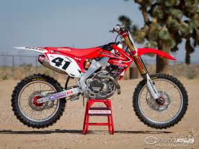 Honda Mx Trey Canard Honda Crf450r Factory Motocross Bike Test