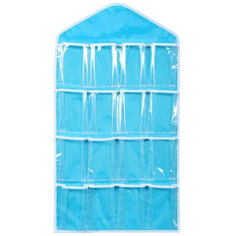 rak organizer rak gantung organizer pakaian dalam blue