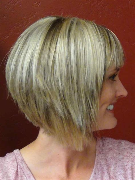 dramatic short back long front bob long bob haircuts front and back view lucyh info
