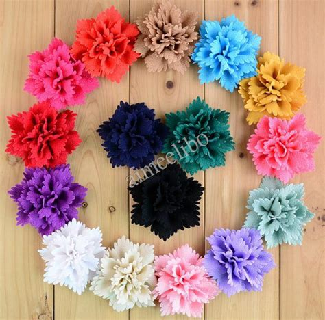 Handmade Fabric Flowers For Sale - aliexpress buy handmade fabric flower fabric