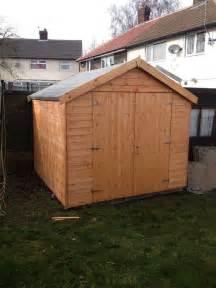 8x8 door garden shed ebay