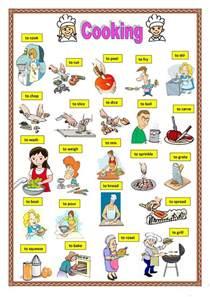 69 free esl cooking worksheets