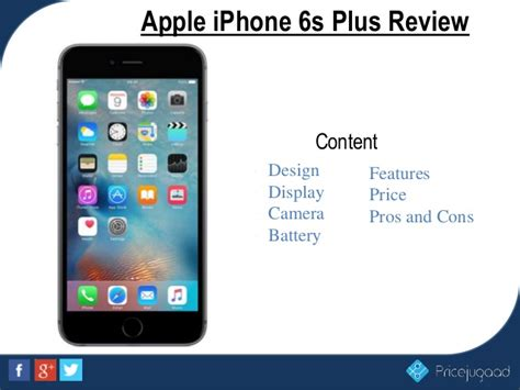apple iphone 6s plus price and specifications