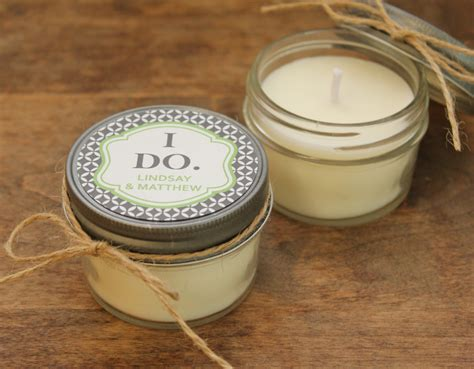 Wedding Favors Candles by Set Of 12 4 Oz Soy Candle Wedding Favors I Do Label By
