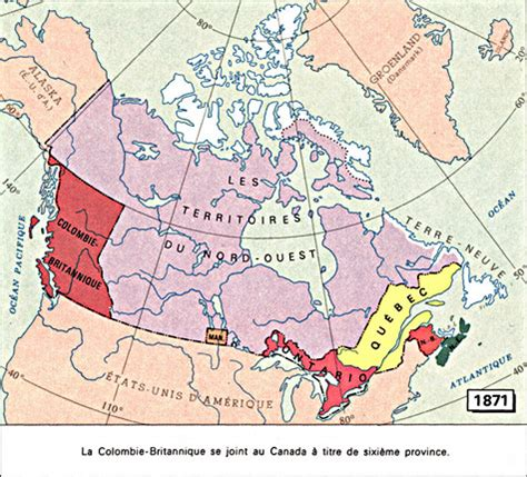 Le Pince 1871 by Archiv 201 E La Colombie Britannique Provinces Et