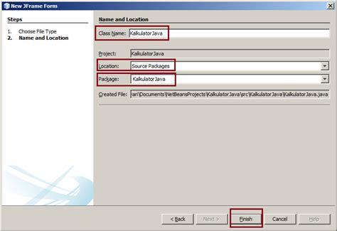 tutorial netbeans membuat kalkulator kalkulator dengan java netbeans lengkap source code