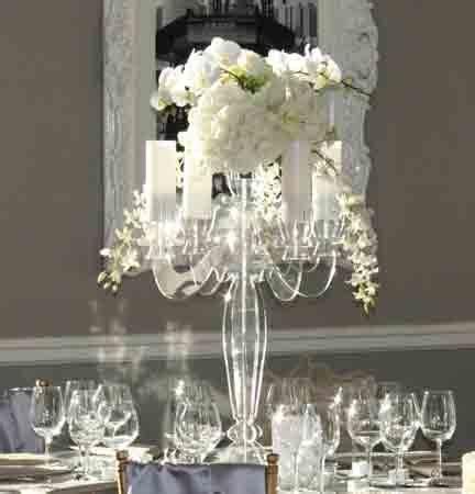 acrylic candelabra centerpiece acrylic candelabra centerpiece centerpieces