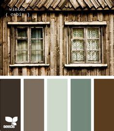 winter cabin paint colors