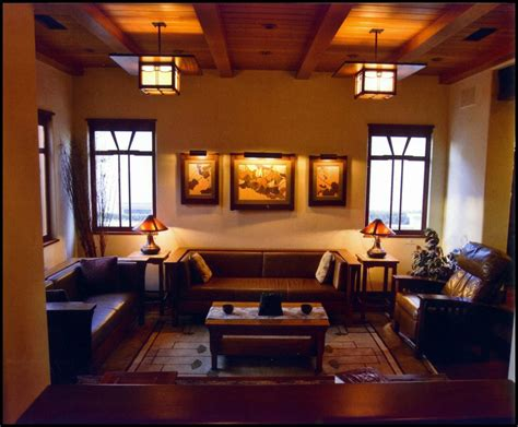 arts and crafts living room of oak workshop arts crafts style doors furnishings and interior woodwork