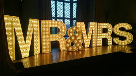 Rent Letters For Wedding Letters Wedding Lights And Letter Hire In East