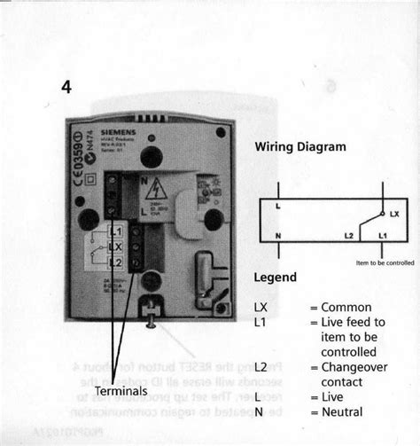 how to wire a new room siemens rdh10rf wireless thermostat diynot forums
