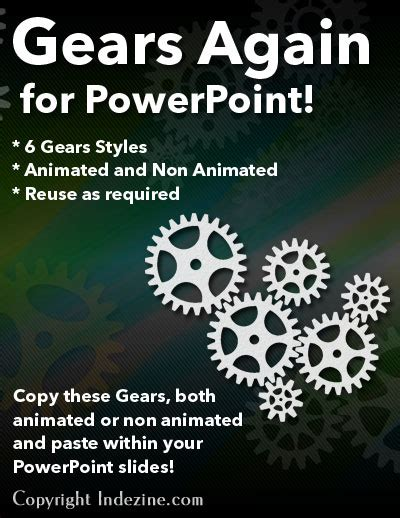 Animated Gears Again For Powerpoint Presentations Animated Gears Powerpoint