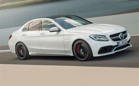 mercedes c class c63 amg pricing announced for