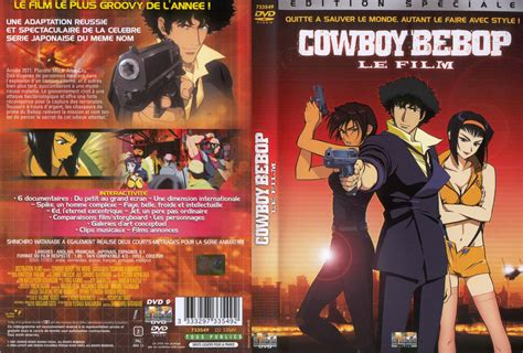 film cowboy bebop cinema jaquette dvd de cowboy bebop le film cin 233 ma passion