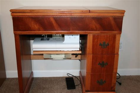 vintage sewing machine cabinet 171 super mom no cape