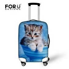 Elastic Luggage Cover Suitcase Protector Size Medium 24 Supplier stylish animal cat dust proof elastic suitcase luggage