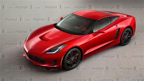 c8 corvette chevy corvette c8 render previews mid engined future