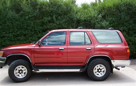 buy car manuals 1993 toyota xtra user handbook find used 1993 toyota 4runner sr5 v6 4wd manual 5 speed sunroof original owner immaculate in
