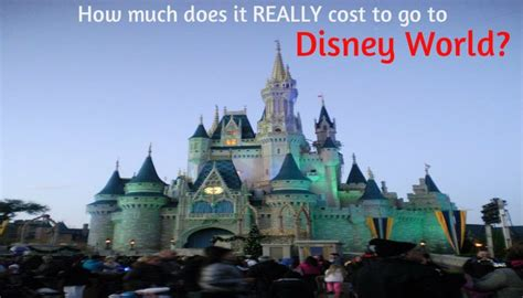 how much does it cost to chip a how much does it realy cost to go to disney world