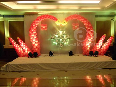 birthday party home decoration ideas in india different aicaevents india balloon decorations with different stage