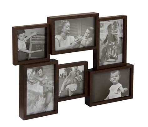 invotis multi aperture picture photo frames holds 6