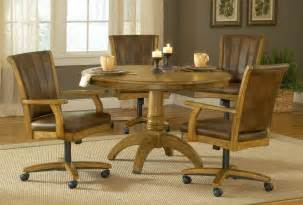 Leather Dining Room Chairs With Casters by Design 12801280 Leather Dining Chairs With Casters Dining
